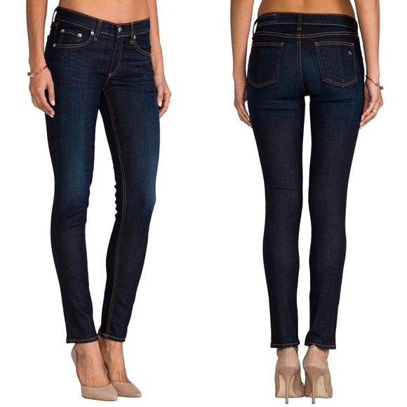 rag & bone Denim - Rag & Bone skinny jeans in Kensington
